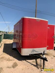 2011 Continental Cargo Unfinished Concession Trailer DIY Mobile Food Unit for Sale in Texas!!!