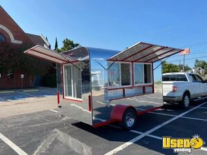 2020 - 12' Empty Food Concession Trailer / Basic Mobile Food Vending Unit for Sale in Texas!