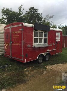 2014 - Mirage 20' Used Beverage / Coffee Concession Trailer Sale in Texas!!!