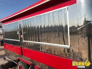 Stainless Steel Lightly Used Food Concession Trailer in Great Condition for Sale in Texas!