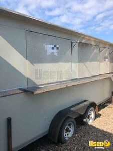 2018 - 7' x 16' Used Mobile Kitchen / Ready to Go Food Concession Trailer for Sale in Texas!