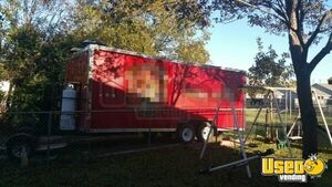 2015 - 8' x 20' Food Concession Trailer for Sale in Texas!!!