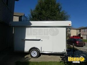 2015 - 6' x 12' Food Concession Trailer for Sale in Texas!!!