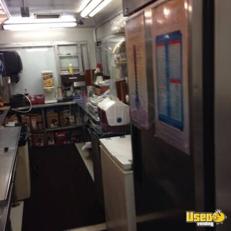 Concession Trailer Upright Freezer Idaho for Sale - 4