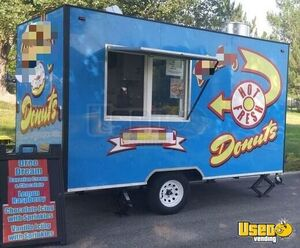 12' Fully Equipped Donut Concession Trailer / Turnkey Mini Donut Business for Sale in Utah!