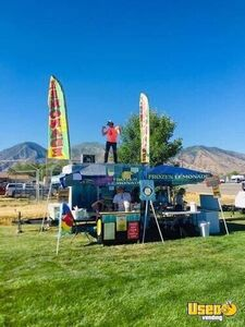 Turnkey Ready Mobile Lemonade Stand/Used Beverage Catering Trailer in Great Shape for Sale in Utah!
