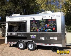 Ready to Go 2017 8' x 16 Food Concession Trailer/Mobile Food Unit for General Use for Sale in Utah!