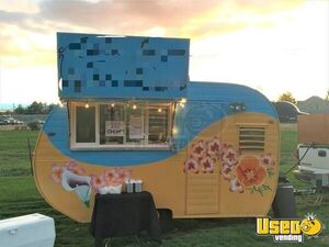 Vintage 12' Shasta Eye-Catching Food Concession Trailer / Mobile Kitchen Unit for Sale in Utah!