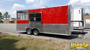 2019 8' x 20' Cynergy Food Concession Trailer w/ Porch & Pro Fire Suppresion for Sale in Utah!