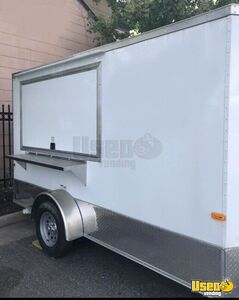 2019 - 7' x 12' Cargo Craft Food Concession Trailer with Pro Fire Suppression for Sale in Virginia!
