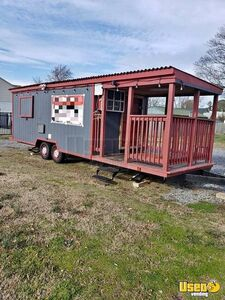 Well-Equipped 2018 Food Concession Trailer with a Nice Porch for Sale in Virginia!