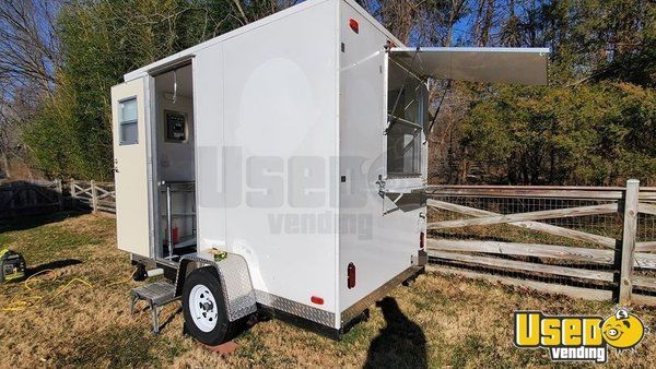 Super Neat and Clean 2018 6' x 10' Food Concession Trailer for Sale in Virginia!