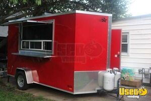 Super Neat Used 2018 6' x 12' Mobile Food Concession Trailer for Sale in Virginia!