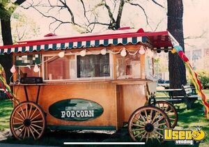 Antique 7.5' x 11' Amish Made Heirloom Vintage Wooden Turnkey Popcorn Wagon for Sale in Wisconsin!!!