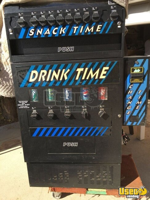 Crystalcooler Antares Snack /soda Machine Michigan for Sale