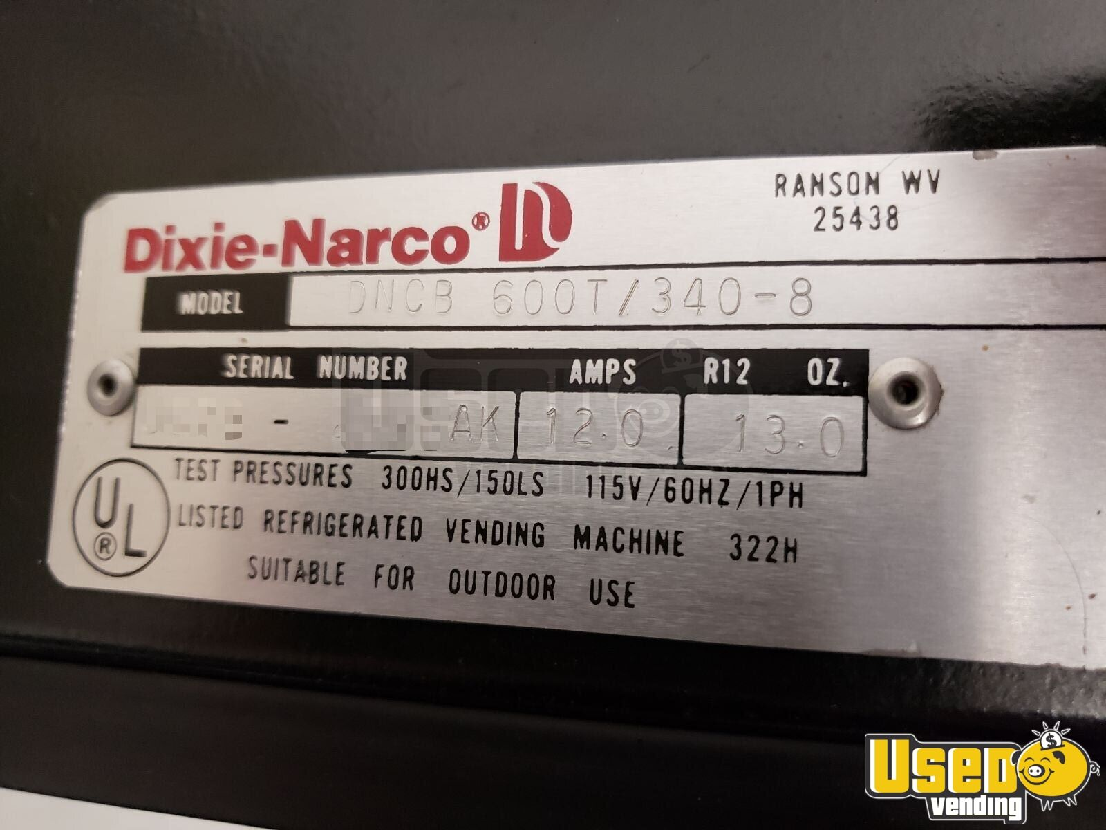 Dixie Narco Soda Machine 4 Connecticut for Sale - 4