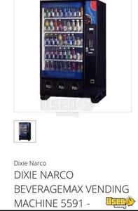 Dixie Narco Soda Machine 4 New Jersey for Sale