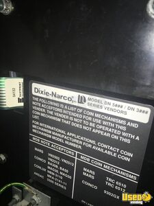 Dixie Narco Soda Machine 6 New Jersey for Sale