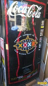Super Bowl 1998 Dixie Narco Coke Vending Machine for Sale in California!