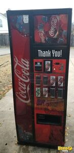 Dixie Narco 276E Dual Price Narrow Width Electrical Soda Vending Machine for Sale in Texas!