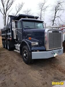 1991 - 18' Freightliner FLD Dump Truck with Low Mileage on Rebuilt Motor for Sale in Connecticut!