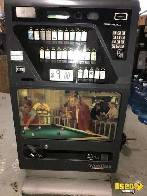 Wurlitzer International M Cigarette Vending Machines for Sale in Louisiana!