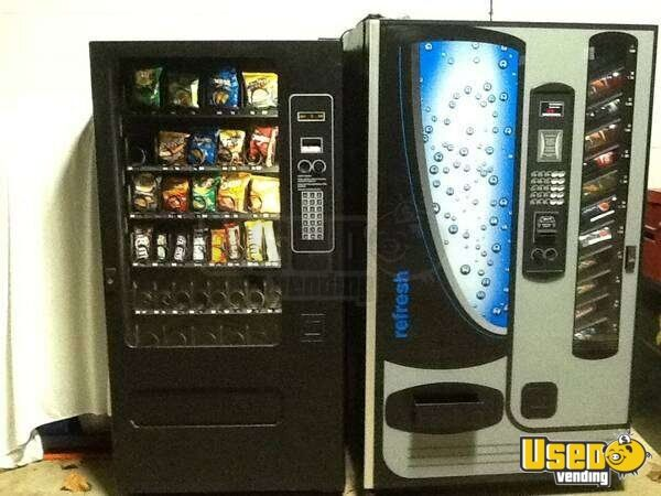 used usi wittern snack soda machines vending machines for sale in ohio