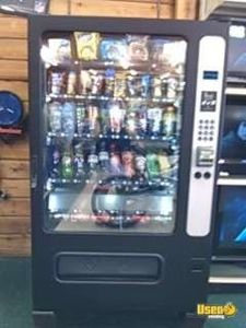 (2) - 2008 Alpine 5000 Electronic Cold Food / Snack Soda Vending Machines!!!
