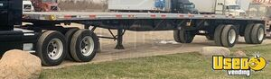Reliable 2005 53' x 102' Fontaine Flatbed Spread Axle Semi Trailer for Sale in Iowa!