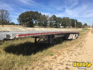 Ready for Business 2016 Benson 524 48' x 8.5' Flatbed Semi Trailer for Sale in Missouri!