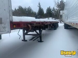 Heavy-Duty 2008 53' Flatbed Semi-Trailer / Used Tractor Trailer for Sale in Ontario!