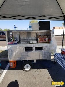 Used 2017 Cart By Victor Hot Dog Vending Concession Cart on a 5' x 10' Trailer for Sale in Arizona!