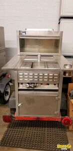 All Stainless Steel Street Hot Dog Concession Cart / Used Food Vending Cart for Sale in Arizona!