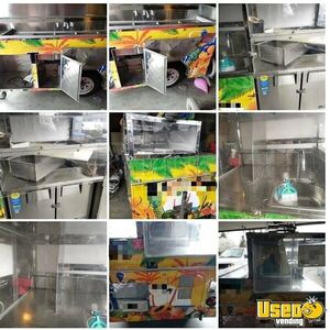 Used Beverage / Fruit Street Concession Cart with Water Heater for Sale in California!