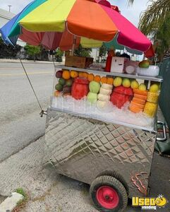Turnkey Mobile Fruit Vending Push Cart Business/Concession Cart for Sale in California!