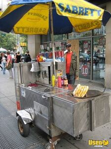 Used Food Concession Cart / Street Food Vending Cart for Sale in California!!!