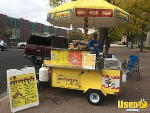 2017 - 4.5' x 6' Dreammaker Oceanside Pro Hot Dog Vending Cart for Sale in Colorado!!