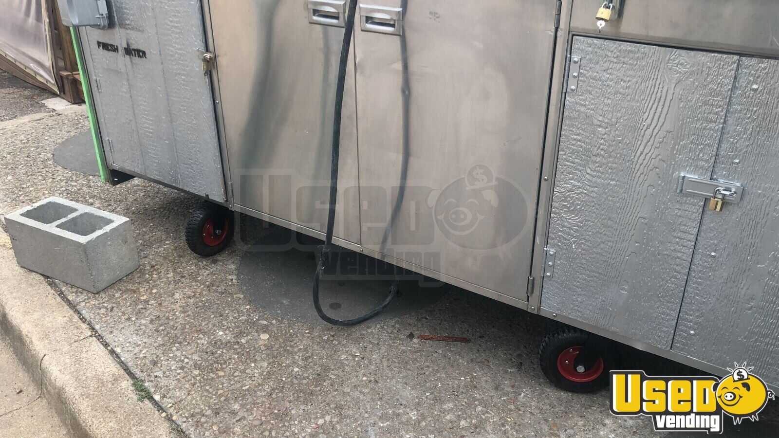 Food Cart Double Sink Texas for Sale - 3