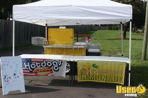 2018 - 4' x 8' Hot Dog / Used Food Vending Cart for Sale in Florida Comes with Everything!!!