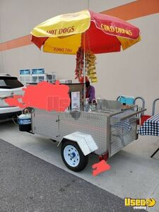 Licensed 2019 4' x 9' DreamMaker Oceanside Pro Street Food Vending Concession Cart for Sale in Florida!