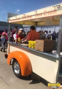 Unique 2016 Custom-Built Hotdog, Snow Cone, and Lemonade Mobile Vending Cart for Sale in Florida!