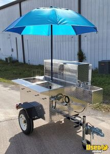 New Ready to Go 2020 Deluxe Jr 3.3' x 5' Street Food Vending Cart for Sale in Florida!