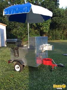 2009 - 4.3' x 7.1' Hot dog / Food Vending Cart for Sale in Florida!!!