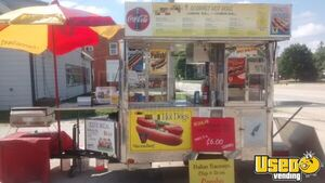 15' Kareem Carts Stainless Hot Dog / Food Vending Cart for Sale in Illinois!!!
