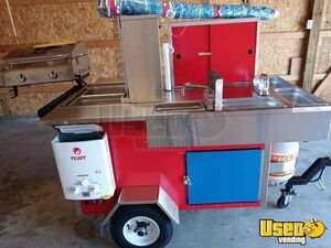 Super Neat Hot Dog Food Vending Concession Cart/Used Food Cart for Sale in Indiana!