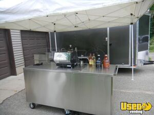 2019 - 2.5' x 6' La Marzocco Coffee Concession Cart / Mobile Barista for Sale in Michigan!