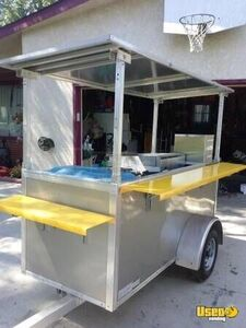 2009 - 4' x 8' NSF Mobile Vending Cart/Used Street Food Concession Trailer for Sale in Minnesota!!!
