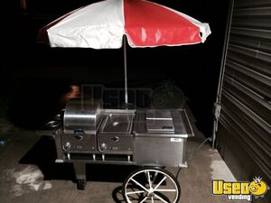 3.7' x 4.5' Hot Dog / Food Vending Push Cart for Sale in Missouri!!!