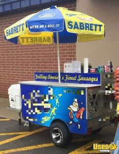 2008 Top Dog The Chief 3.75' x 6.25' Hot Dog Vending Cart for Sale in North Carolina!