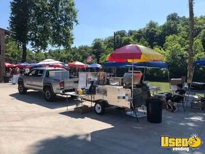 2016 4' x 10' Custom Stainless Hot Dog / Food Vending Grill Cart for Sale in Ohio- Barely Used!